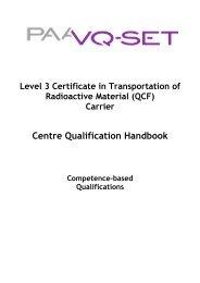 QCF Qual Handbook L3 Cert in T-RAM Carrier April 2010 - Ramtuc