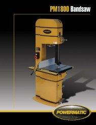 PM1800 Bandsaw - Powermatic