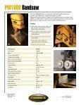 PM1800 Bandsaw - Powermatic - Page 2
