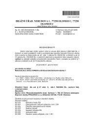 CRDUX000X5MD - Drážní úřad