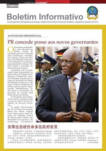 Boletim Informativo - consgeralangola.org.mo