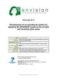 Development of an operational system by applying the ENVISION ...