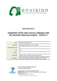 Integration of the open source catalogue with the semantic discovery ...