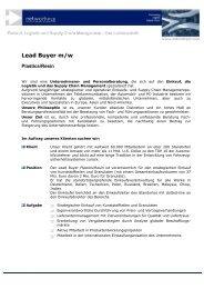Lead Buyer m/w - networkPLS