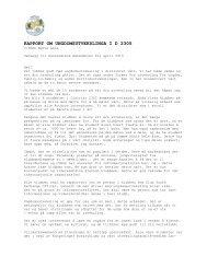 Rapport om ungdomsutveksling - Distrikt 2305