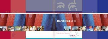 Jaarverslag 2003 - NKI / AvL