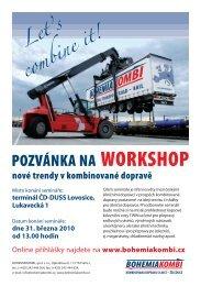 Pozvánka na workshop Let's combine it - Bohemiakombi