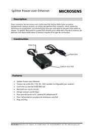 Splitter Power-over-Ethernet