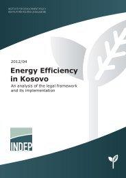 10/2012 Energy Efficiency in Kosovo - indep