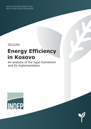 10/2012 Energy Efficiency in Kosovo - indep
