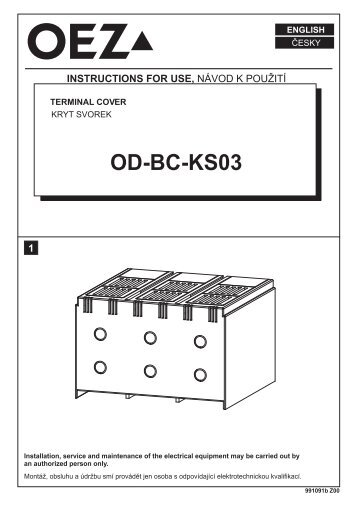 Kryt svoriek - OD-BC-KS03