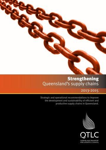 QTLC SQSC Report - Queensland Transport and Logistics Council