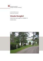 UV Väst Rapport 2008:32 - arkeologiuv.se