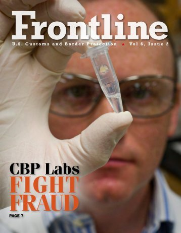 Frontline Magazine Vol 6 Issue 2 - CBP.gov