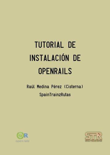 TUTORIAL DE INSTALACIÓN DE OPENRAILS