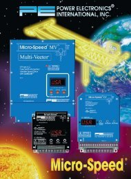 Micro-Speed CX Brochure - Industrial Power & Control