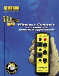 Wireless Controls for Cranes and Industrial Applications
