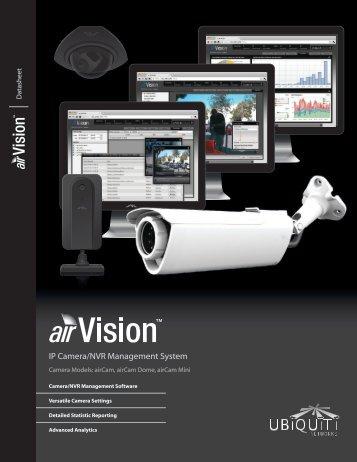 airVision Datasheet - Ubiquiti Networks