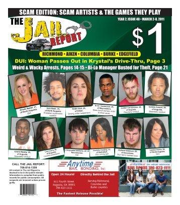 The Jail Report - University of South Carolina