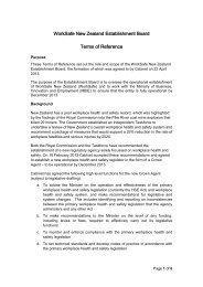 Establishment Board ToR 28 June 2013 - Ministry of Business ...