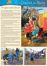 Council in Focus - Issue 5 - September 2011 - Burdekin Shire Council
