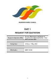 Service, Maintenance and Repairs of Council's Airconditioning ...