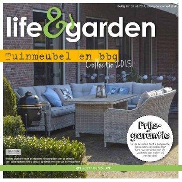 Life&garden tuinmeubel en bbq catalogus