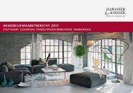 IMMOBILIENMARKTBERICHT 2015 - Stuttgart, Esslingen, Sindelfingen/Böblingen, Waiblingen