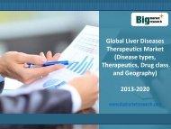Global Liver Diseases Therapeutics Market Forecast, Segmentation 2020