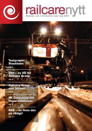 Railcare nyt 2007 (SWE)