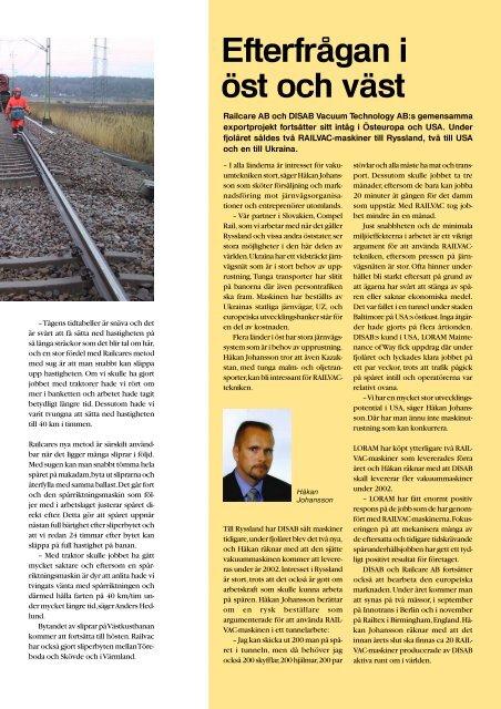 Railcare nyt 2002