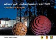 10705 P&I Skien program - FAGUS