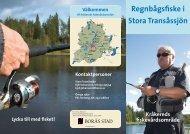 Regnbågsfiske i Stora Transåssjön - Borås Stad