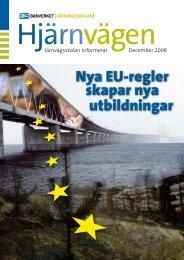 Nya EU-regler skapar nya utbildningar - Järnvägsskolan