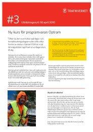 Ny kurs för programvaran Optram - Järnvägsskolan