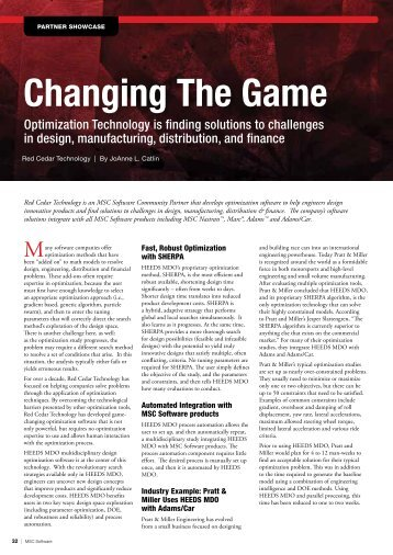 Read the article - Red Cedar Technology
