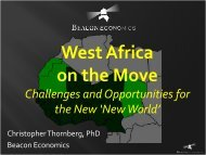 West Africa on the Move - African Cashew Alliance