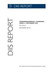 Terrorbekæmpelse i Danmark siden 11. september 2001 - DIIS