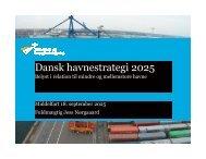 Dansk havnestrategi 2025 - Danske Havne