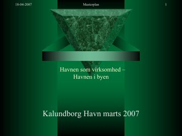 Kalundborg Havn marts 2007 - Danske Havne