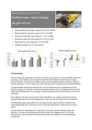 Delårsrapport Q1 2013 - Railcare
