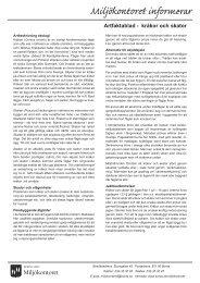 Miljökontoret informerar - Borås Stad