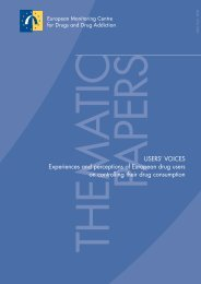 USERS' VOICES Experiences and perceptions of European ... - OFDT