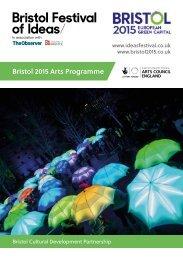 Bristol2015ArtsProgramme