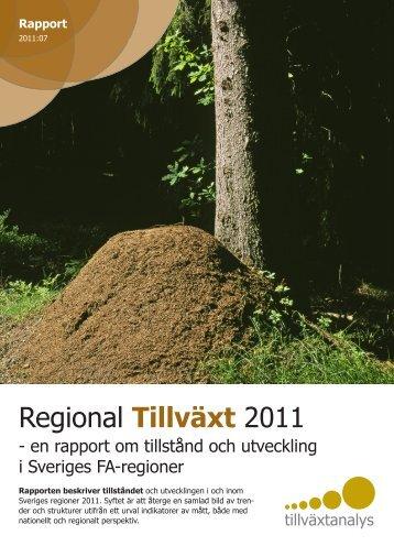Rapport 2011:07 - Tillväxtanalys