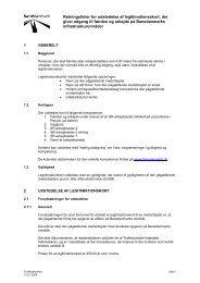 Retningslinier for udstedelse af legitimationsskort ... - Banedanmark