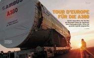 TOUR D'EUROPE FÜR DIE A380 - Axel Novak