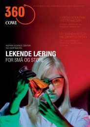 Kundemagasin august 2012 (pdf) - Cowi
