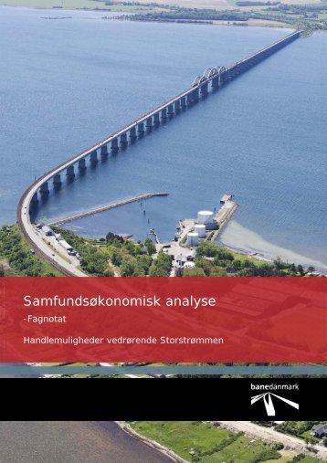 Samfundsøkonomisk analyse - Banedanmark