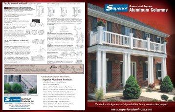 Aluminum Columns Product Brochure - Superior Aluminum Products